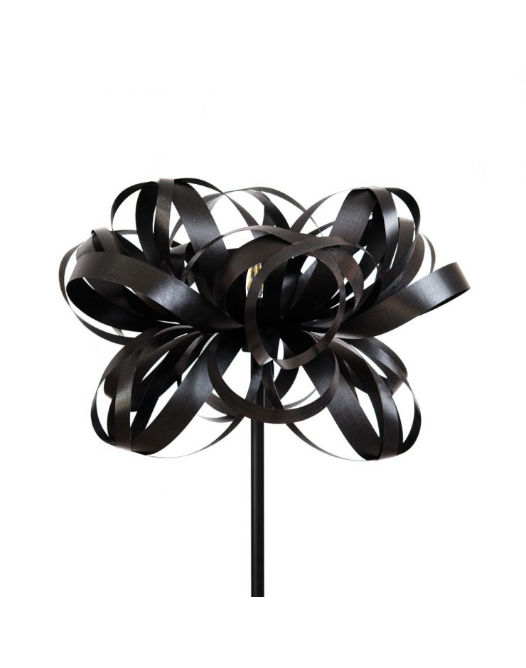 2.4 Lampadar Flower (black) - picior metalic