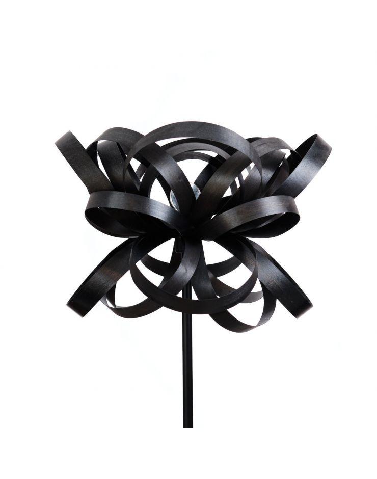 1.4 Lampadar Woody (black) - picior metalic