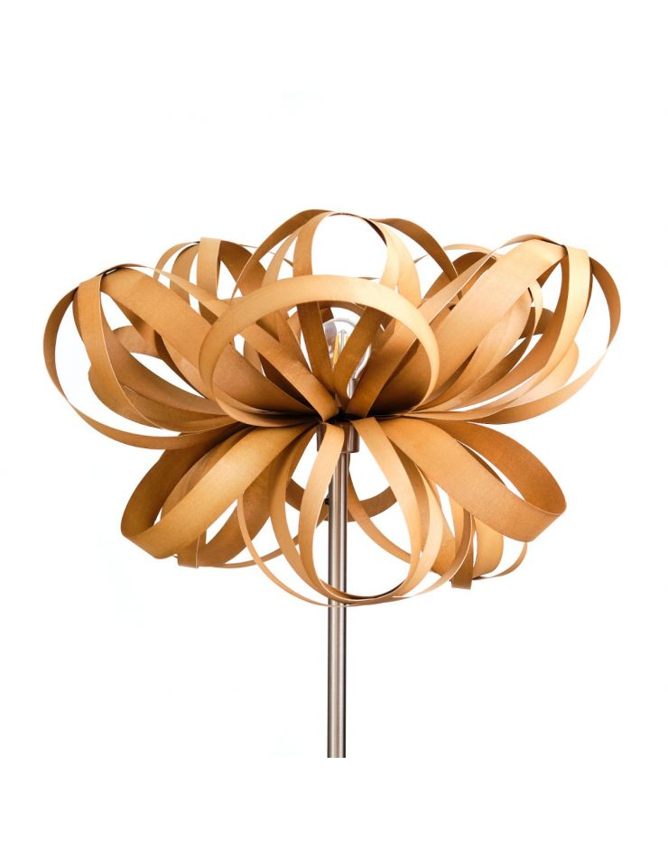 2.2 Lampadar Flower (alun) - cu picior metalic