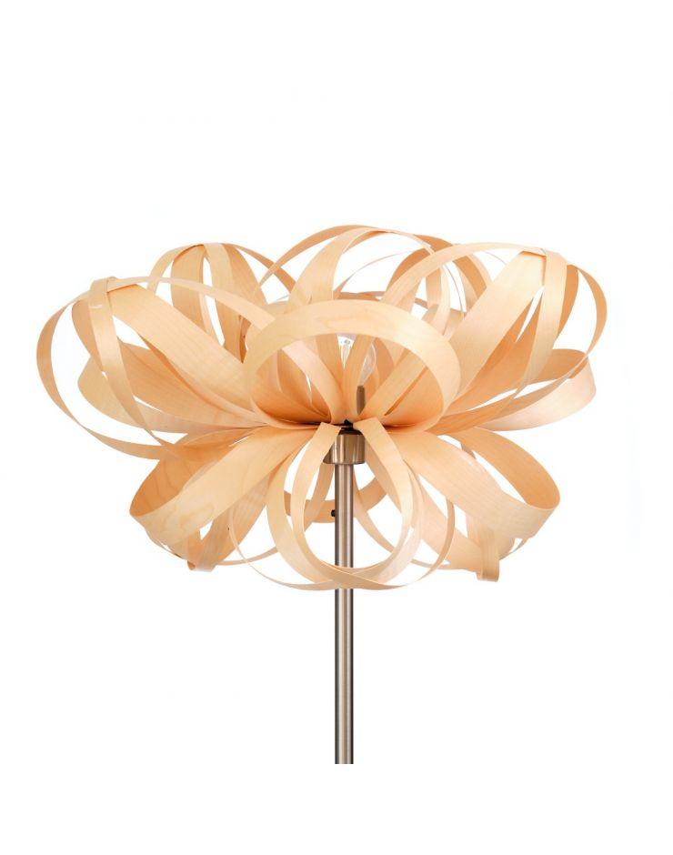 2.1 Lampadar Flower (natur) - Picior metalic