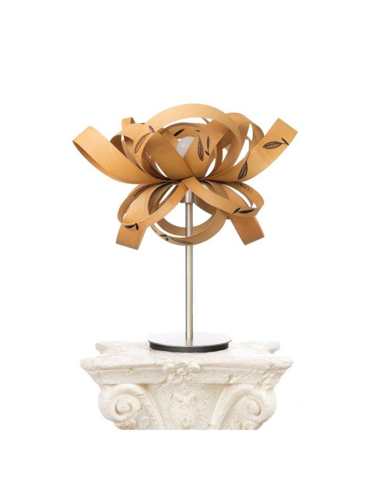 *Lampă Birou Woody (alun) - Cristina Frei